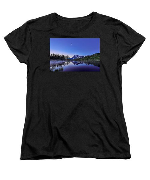 Women's T-Shirt (Standard Cut) featuring the photograph Just Before The Day by Jon Glaser