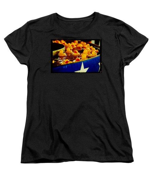 Just Ducky Women's T-Shirt (Standard Cut) by Toni Hopper
