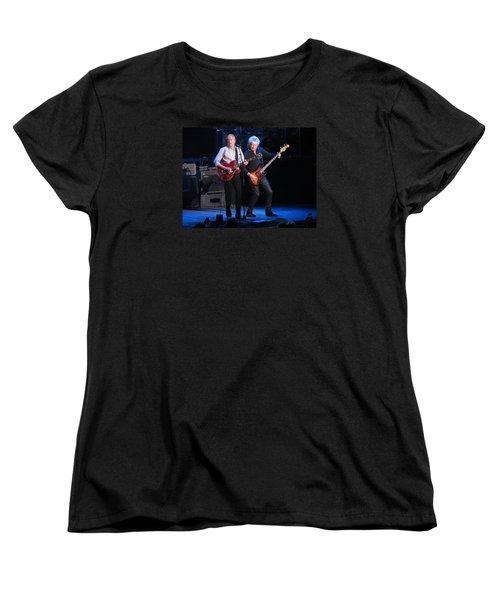 Justin And John In Concert 2 Women's T-Shirt (Standard Cut) by Melinda Saminski