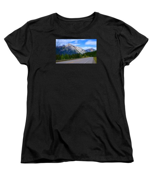 Kananaskis Country Women's T-Shirt (Standard Cut) by Heather Vopni