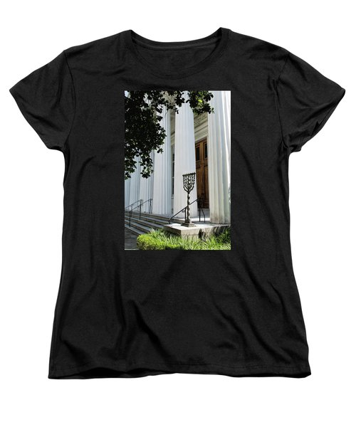 Kahal Kadosh Beth Elohim Women's T-Shirt (Standard Cut) by Ed Waldrop