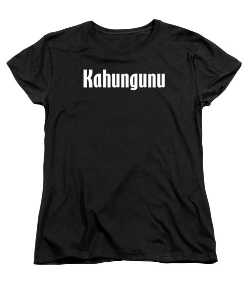 Kahungunu Women's T-Shirt (Standard Cut) by Regan Butler
