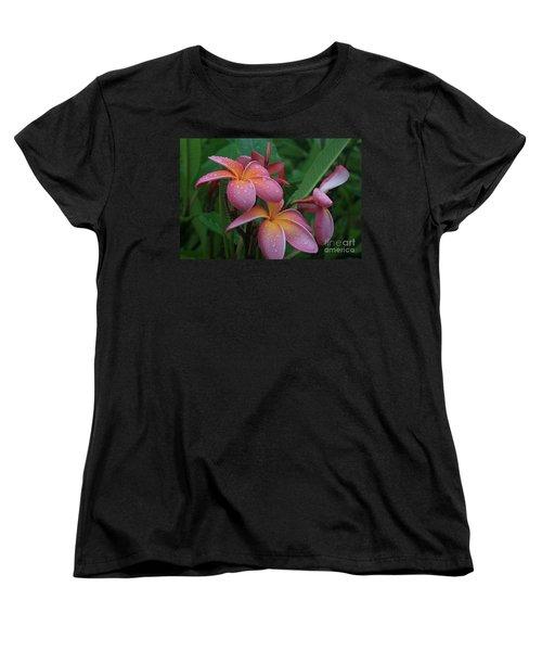 Kaikena Dreams Melia Aloha Keanae Women's T-Shirt (Standard Cut) by Sharon Mau