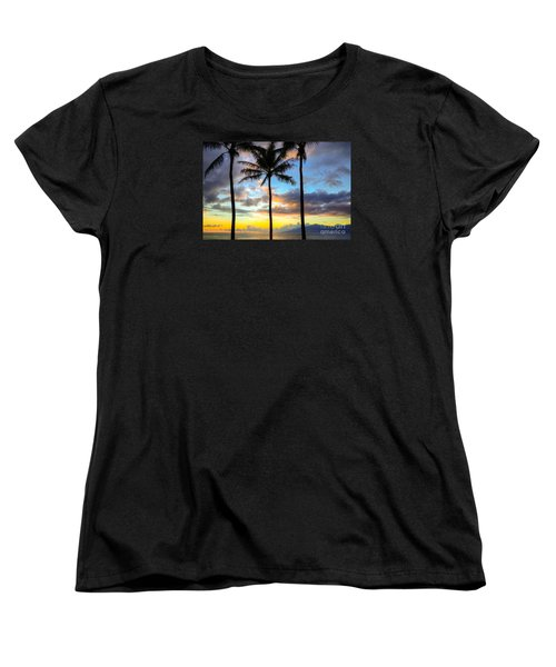 Women's T-Shirt (Standard Cut) featuring the photograph Kapalua Dream by Kelly Wade