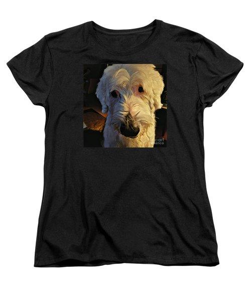 Women's T-Shirt (Standard Cut) featuring the photograph Katie Jean Lynn by Jodie Marie Anne Richardson Traugott          aka jm-ART