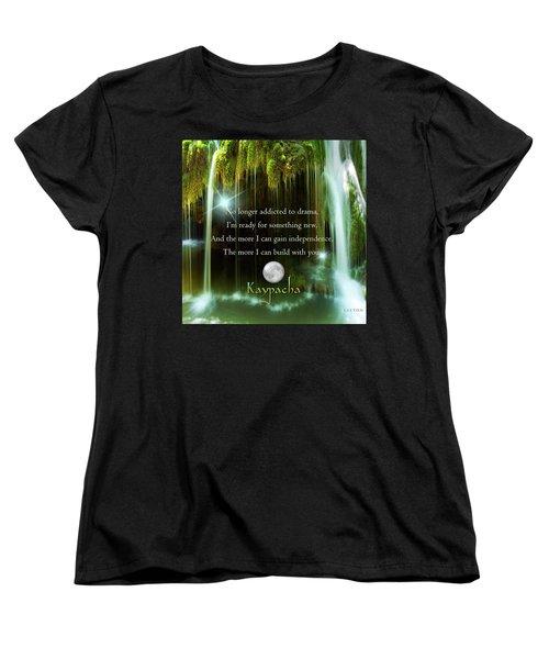 Kaypacha - November 10, 2016 Women's T-Shirt (Standard Cut) by Richard Laeton