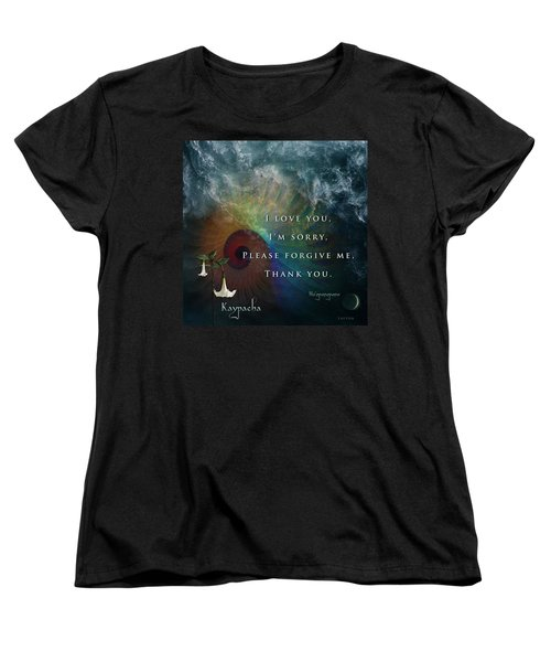 Kaypacha's Mantra 7.15.2015 Women's T-Shirt (Standard Cut) by Richard Laeton