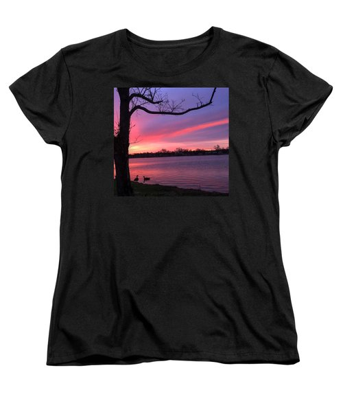 Women's T-Shirt (Standard Cut) featuring the photograph Kentucky Dawn by Sumoflam Photography