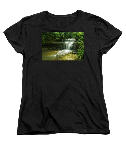 Kentucky Waterfalls Women's T-Shirt (Standard Cut)