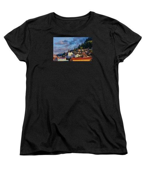 Women's T-Shirt (Standard Cut) featuring the photograph Ketchikan Morning by Lewis Mann