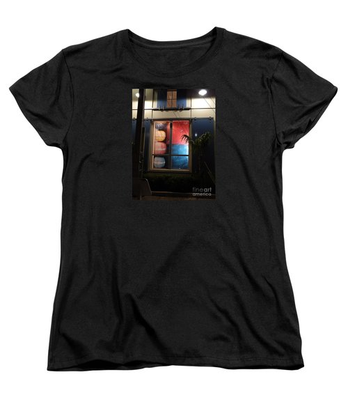 Key West Window Women's T-Shirt (Standard Cut) by Expressionistart studio Priscilla Batzell