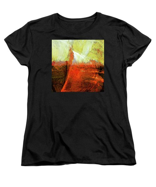 Women's T-Shirt (Standard Cut) featuring the painting Kilauea by Dominic Piperata