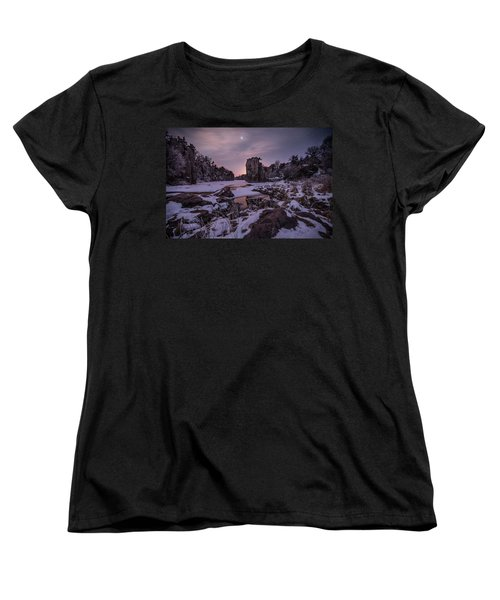 King Of Frost Women's T-Shirt (Standard Cut) by Aaron J Groen