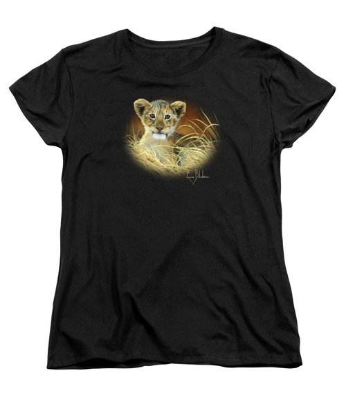 King To Be Women's T-Shirt (Standard Cut) by Lucie Bilodeau