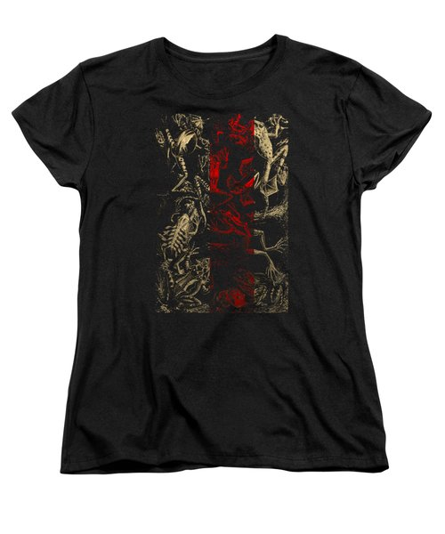 Kingdom Of The Golden Amphibians Women's T-Shirt (Standard Cut) by Serge Averbukh