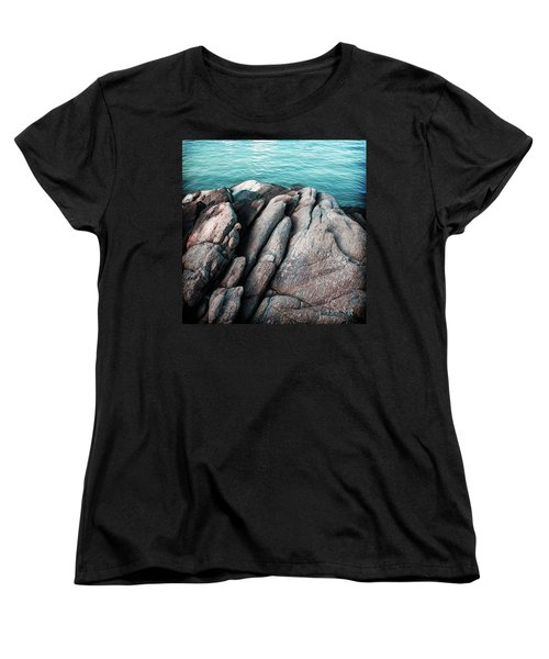 Women's T-Shirt (Standard Cut) featuring the photograph Ko Samet Rocks by Joseph Westrupp
