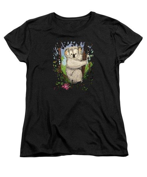 Koala Women's T-Shirt (Standard Cut) by Adam Santana