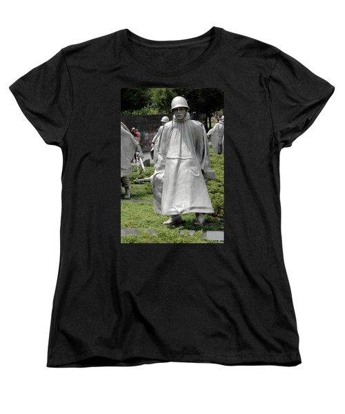Korean War Memorial Women's T-Shirt (Standard Cut) by LeeAnn McLaneGoetz McLaneGoetzStudioLLCcom