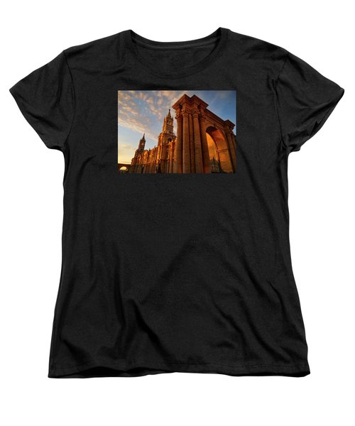 Women's T-Shirt (Standard Cut) featuring the photograph La Hora Magia by Skip Hunt