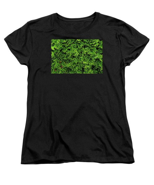 Life In Green Women's T-Shirt (Standard Cut)