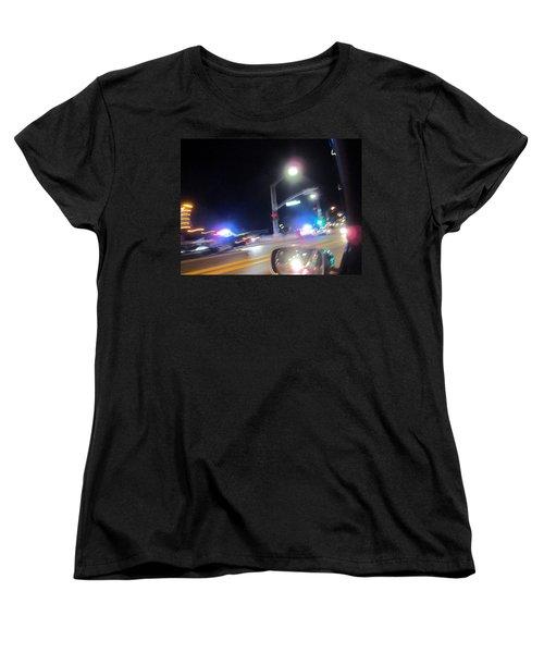 Laguna Night Women's T-Shirt (Standard Cut) by Dan Twyman