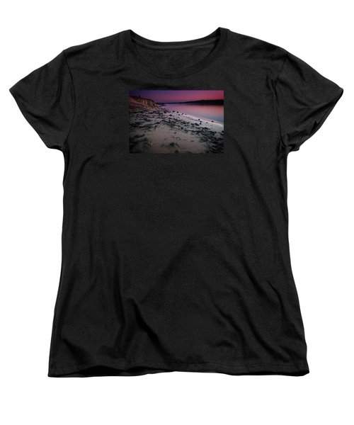 Lake Sunset Vii Women's T-Shirt (Standard Cut)
