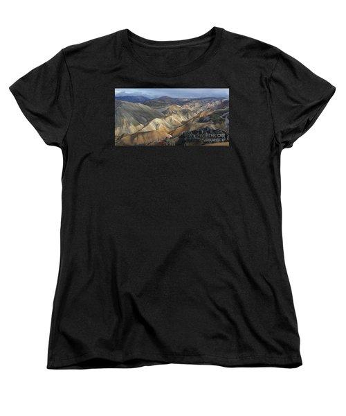 Landmannalaugar Rhyolite Mountains Iceland Women's T-Shirt (Standard Cut)
