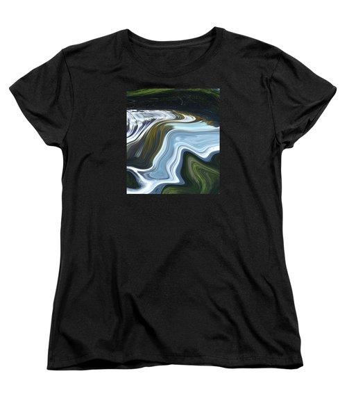 Lands End Women's T-Shirt (Standard Cut) by Kerri Ligatich