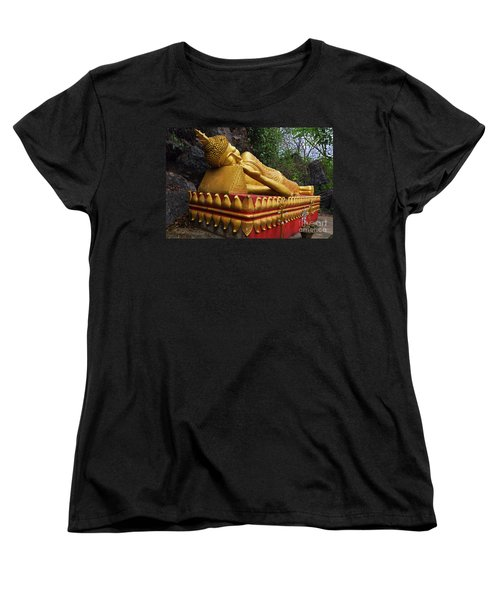 Laos_d602 Women's T-Shirt (Standard Cut) by Craig Lovell