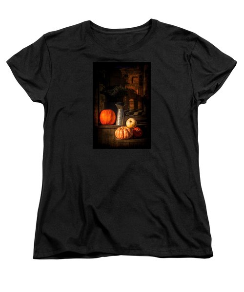 Last Autumn Sunlight Women's T-Shirt (Standard Cut) by Celso Bressan
