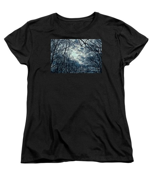 Women's T-Shirt (Standard Cut) featuring the photograph Last Light by Sandy Moulder