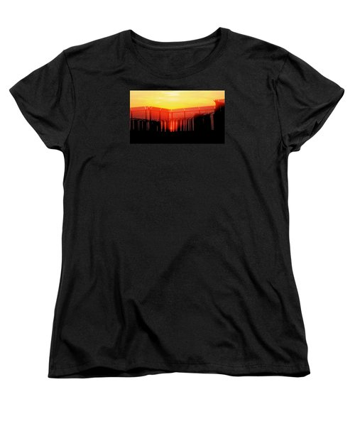 Last Ray Women's T-Shirt (Standard Cut) by Yelena Tylkina