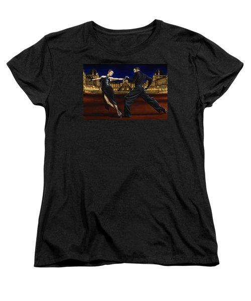 Last Tango In Paris Women's T-Shirt (Standard Cut) by Richard Young