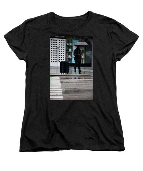 Last Text  Women's T-Shirt (Standard Cut) by Empty Wall