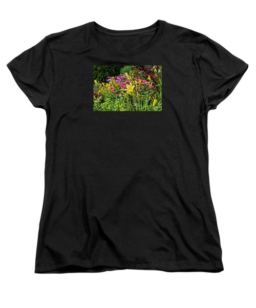 Late July Garden 1 Women's T-Shirt (Standard Cut) by Janis Nussbaum Senungetuk