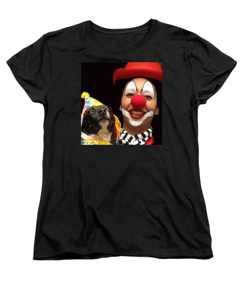 Laugh Out Loud Women's T-Shirt (Standard Cut) by Ian  MacDonald