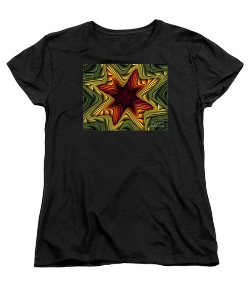 Layers Of Color Women's T-Shirt (Standard Cut) by Deborah Benoit