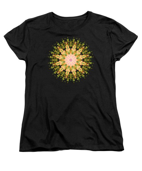 Leaf Nouveau Women's T-Shirt (Standard Cut) by Mary Machare