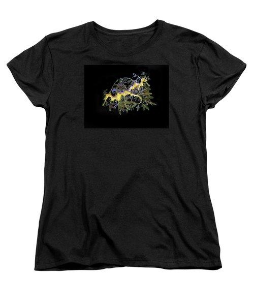 Leafy Sea Dragons Women's T-Shirt (Standard Cut) by Anthony Jones
