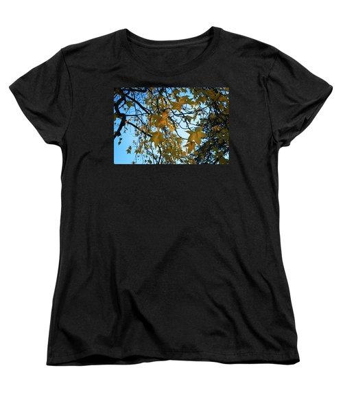 Leaves Women's T-Shirt (Standard Cut) by Cendrine Marrouat