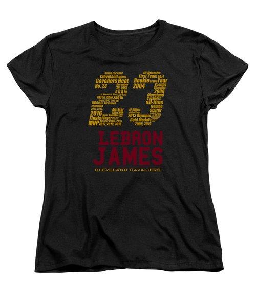 Lebron 23 Women's T-Shirt (Standard Cut) by Augen Baratbate