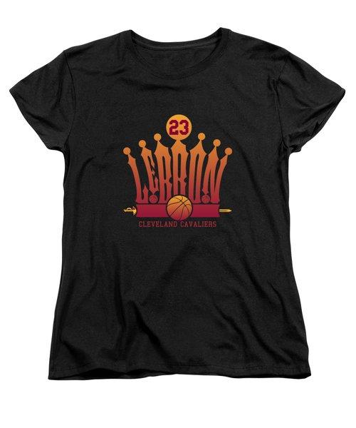 Lebroncrown Women's T-Shirt (Standard Cut) by Augen Baratbate