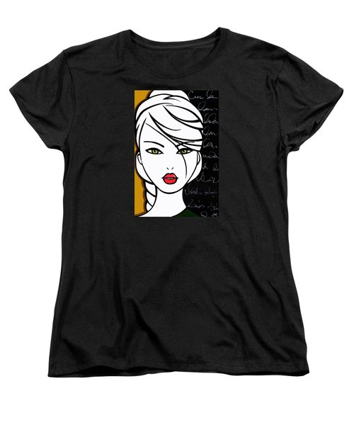Lesson Learned Women's T-Shirt (Standard Cut) by Tom Fedro - Fidostudio