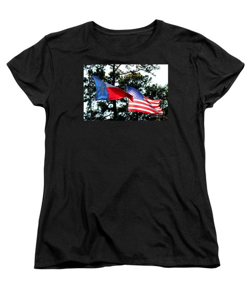 Women's T-Shirt (Standard Cut) featuring the photograph Let Freedom Ring by Kathy  White