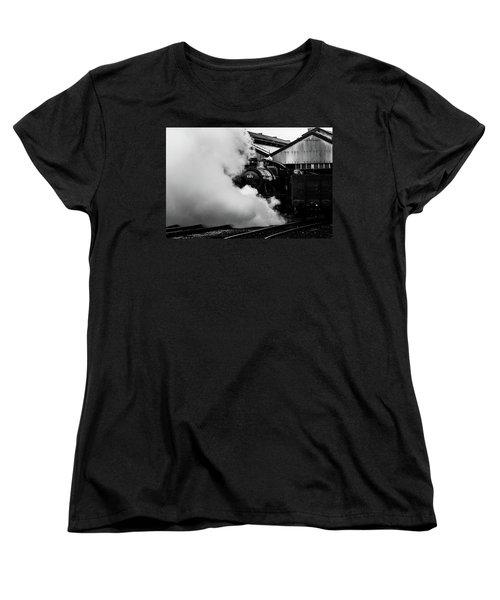 Letting Off Steam Women's T-Shirt (Standard Cut) by Ken Brannen