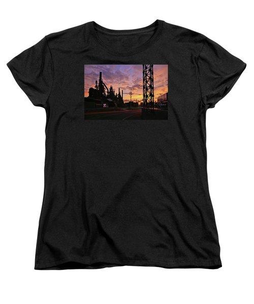 Women's T-Shirt (Standard Cut) featuring the photograph Levitt Pavilion by DJ Florek