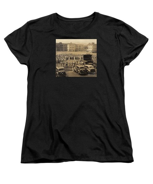 Lick The Chicks Women's T-Shirt (Standard Cut) by Walter Chamberlain