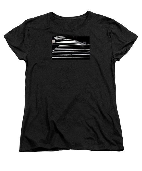 Lids Women's T-Shirt (Standard Cut) by David Gilbert