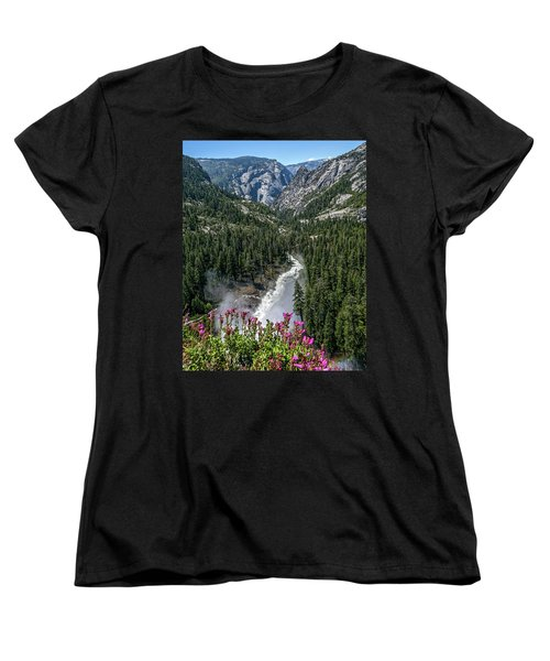 Life Line Of The Valley Women's T-Shirt (Standard Cut) by Ryan Weddle