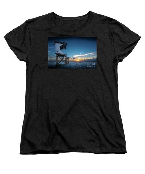 Women's T-Shirt (Standard Cut) featuring the photograph Lifeguard by Brian Jones